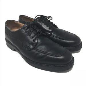 Bostonian Strada men's black leather oxfords Italy